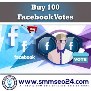 Buy 100 Facebook Votes